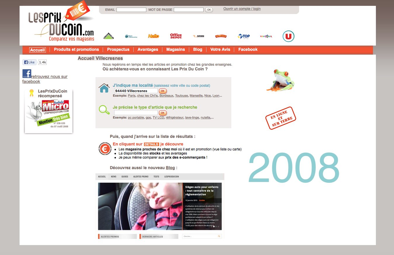 Home Page 2008